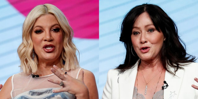 Tori Spelling broke her silence on Shannen Doherty's cancer diagnosis on Tuesday.