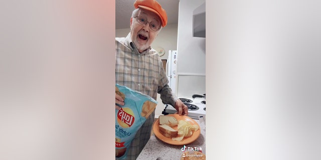 Stephen Austin of Fort Worth, Texas, has won over viewers on TikTok with his sweet and simple cooking videos.