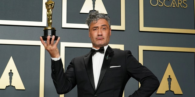 Writer-director-actor Taika Waititi of Māori descent was 2020's winner of best adapted screenplay for 'Jojo Rabbit.' (Photo by Rachel Luna/Getty Images)