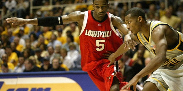 Louisville's Taquan Dean was the star of the 2005 tournament. (Photo by Sean Brady/Getty Images)