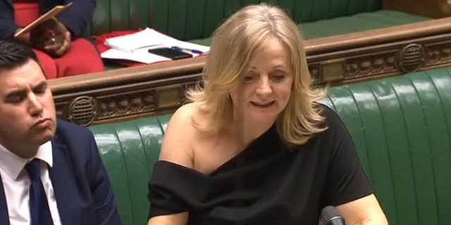 Tracy Brabin, seen here, speaks at the House of Commons on Monday following Downing Street's decision to order senior journalists from some of the UK's major news organizations to leave before a briefing on Boris Johnson's Brexit plans.