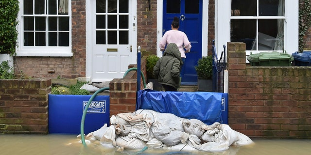 Flood-hit communities in England are bracing for further heavy rain as river levels continue to threaten to breach barriers, in the aftermath of Storm Dennis which has swept northern Europe.
