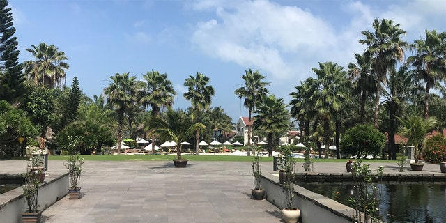 Some resorts in Vietnam, like this one in Hoi An, report significat drops in bookings since the outbreak.