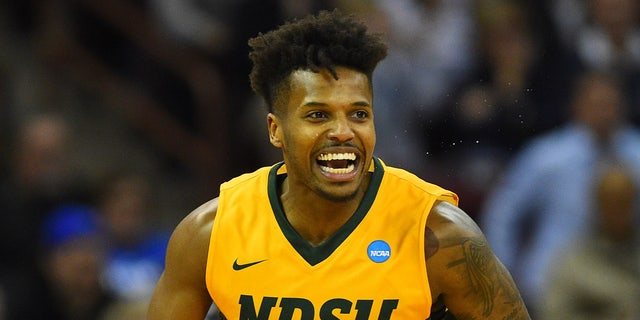 North Dakota State was led to a tournament title by Vinnie Shahid. (Bob Donnan-USA TODAY Sports)