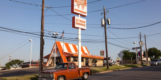 The Whataburger employee instinctively flipped over the drink because of her former job at Dairy Queen.