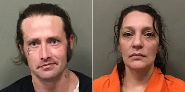 William McCloud and Angela Boswell were arrested Friday in Wilkes County, North Carolina on one count of possession of stolen property.
