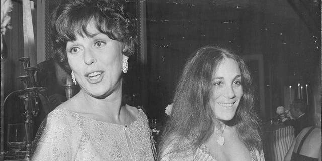 Barra Grant (right) said her mother Bess Myerson struggled with aging.
