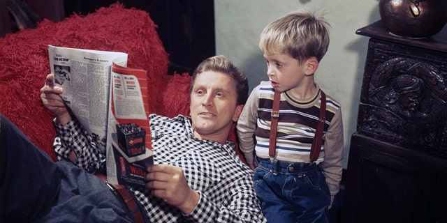 Westlake Legal Group ab93ed7d-Kirk-Michael-douglas-young Kirk Douglas: A look back at his rich family life Nate Day fox-news/entertainment/tv fox-news/entertainment/movies fox-news/entertainment/events/departed fox-news/entertainment/celebrity-news fox-news/entertainment fox news fnc/entertainment fnc article a047fca3-fa23-55d3-98ea-86def0299c01