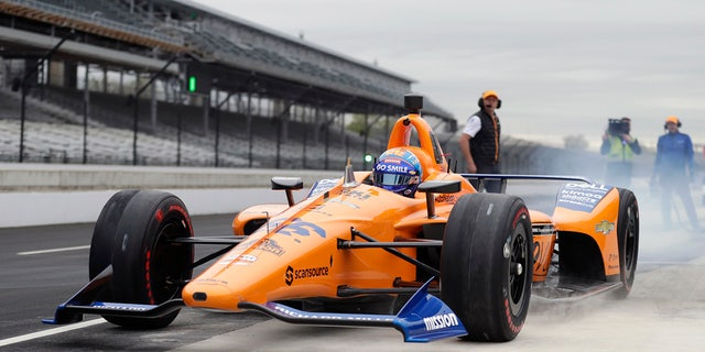 Alonso had a disastrous outing at Indy in 2019.