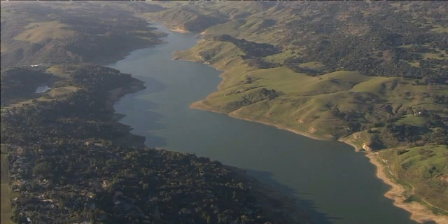 The Anderson Reservoir is a crucial water supply for some two million customers in Northern California.