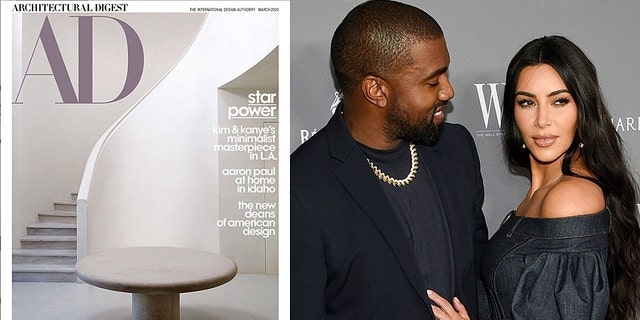 Kanye West and Kim Kardashian West聽have shared a rare glimpse of their famously minimal Los Angeles mansion 鈥� though social media commenters remain divided regarding whether the austere space is 鈥済orgeous鈥� or 鈥渉orror movie material creepy.鈥�