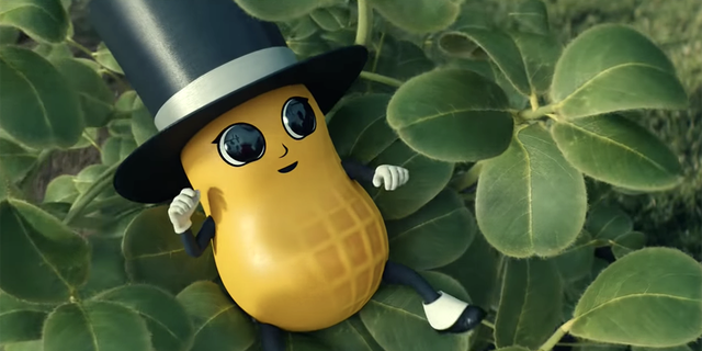 """Just 10 days after Planters announced the sudden death of their 104-year-old mascot Mr. Peanut, the brand resurrected their dapper ambassador in the form of """"Baby Nut,"""" incarnated in infancy."""