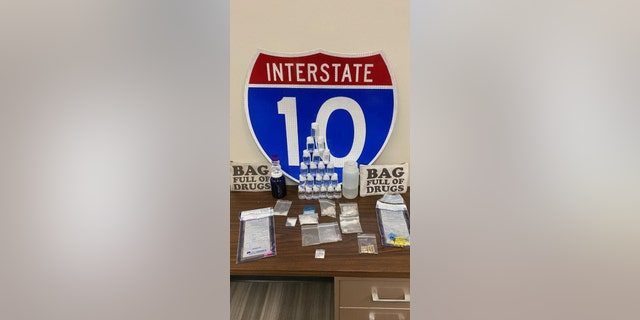 """""""Note to self- do not traffic your illegal narcotics in bags labeled 'Bag Full Of Drugs,'"""" the Santa Rosa Sheriff's Office said."""