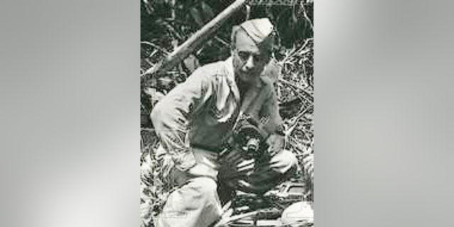 Polish-born U.S. immigrant Sgt. Jack Gilbert was 37 when he was hit by enemy shell fire on the island of Bougainville in Papua New Guinea in February, 1942.