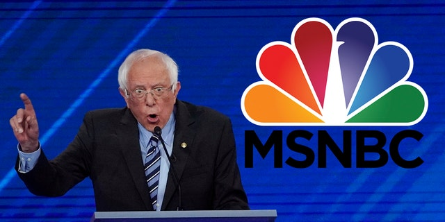 MSNBC has been widely accused of negatively covering Bernie Sanders' 2020 presidential campaign.
