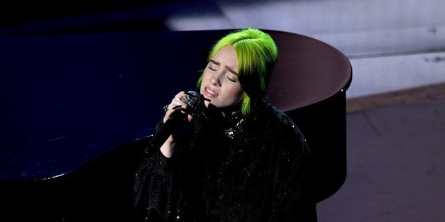Billie Eilish will perform Sunday night on FOX from her family's couch.