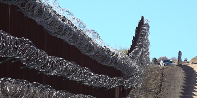 U.S. and Mexico border in Nogales, Arizona (Stephanie Bennett/Fox News).