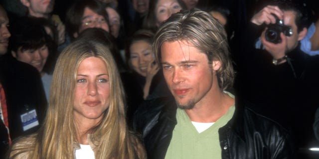 Westlake Legal Group c58e7122-GettyImages-78878389 Jennifer Aniston turns 51: A look back at her biggest moments Nate Day fox-news/topic/celebrity-birthdays fox-news/person/jennifer-aniston fox-news/person/brad-pitt fox-news/entertainment/tv fox-news/entertainment/movies fox-news/entertainment/friends fox-news/entertainment/events/couples fox-news/entertainment/celebrity-news fox-news/entertainment fox news fnc/entertainment fnc article 3a8b507d-4d4a-5f3f-a845-ed0466492132