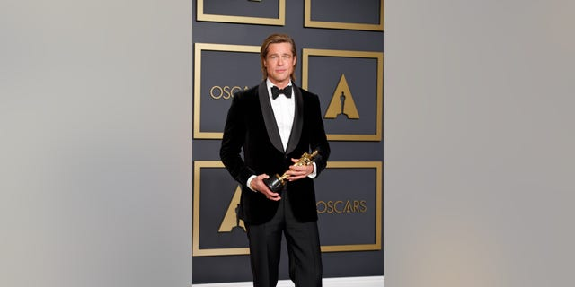 Brad Pitt. (Rick Rowell via Getty Images)
