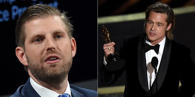 Eric Trump called Brad Pitt a 'smug elitist.'