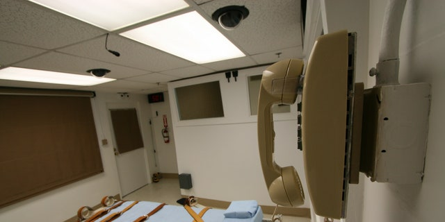 An execution chamber used in Florida. (Florida Department of Corrections)