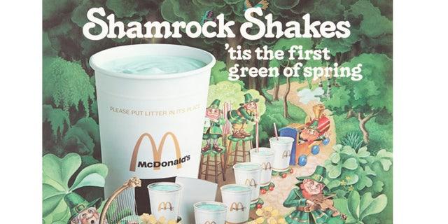 are shamrock shakes back 2020