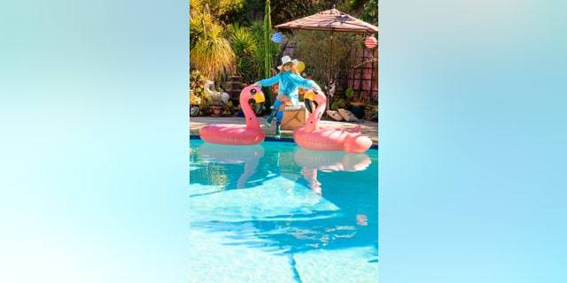 Linda Ramone said she and late husband Johnny Ramone always wanted a pool but they never made use of their diving board.
