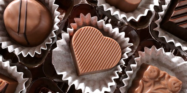 One of the more popular items among U.S. states were chocolate candy assortments.