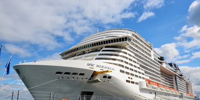 Amid the ongoing COVID-19 outbreak, MSC Cruises' Meraviglia ship, pictured, was turned away from two ports in the Caribbean on Tuesday.