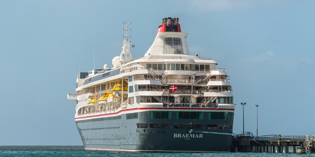 Those who were scheduled to board the Braemar in the Dominican Republic have been provided with hotel accommodations on the Caribbean island and are receiving new departure dates for their cruise.