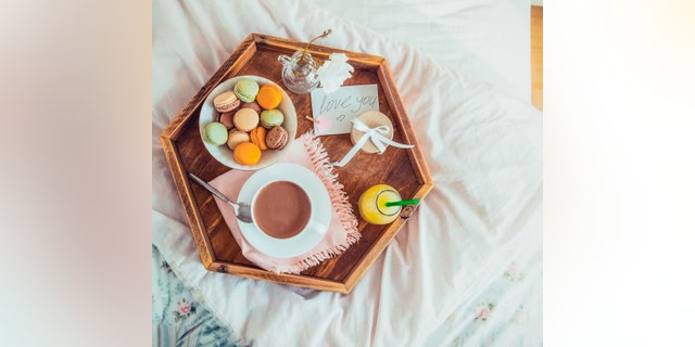 Your sweetheart will love an all-purpose breakfast-in-bed tray just as much as they'll enjoy the meals you serve on it.