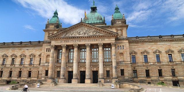 Leipzig, Germany. Federal Administrative Court (Bundesverwaltungsgericht).