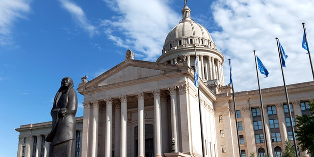 The Oklahoma State Capitol is located in Oklahoma City.