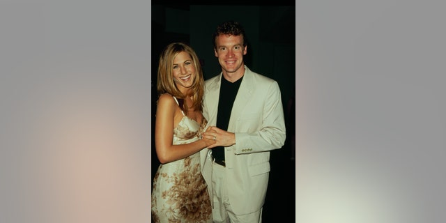 Actress Jennifer Aniston with actor Tate Donovan in 1998. (Photo by The LIFE Picture Collection via Getty Images)