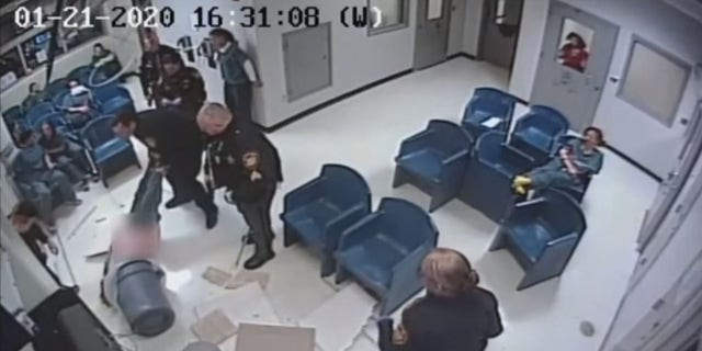 Westlake Legal Group jessica-boomershine2 Ohio inmate falls through ceiling, lands in trash during failed jailbreak caught on video Stephen Sorace fox-news/us/us-regions/midwest/ohio fox-news/us/crime fox-news/tech/topics/viral fox news fnc/us fnc e469ae32-3992-51c1-a512-fb5b0c68bb78 article