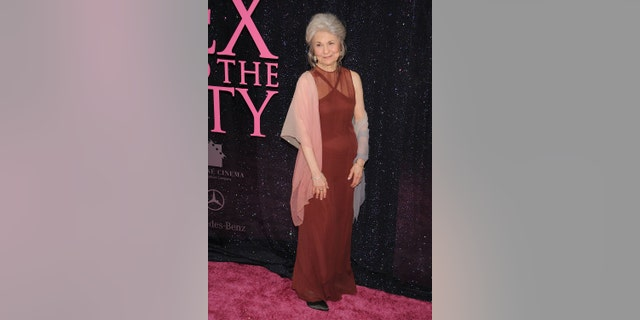 """Actress Lynn Cohen attends the premiere of """"Sex and the City: The Movie"""" at Radio City Music Hall in May 2008."""