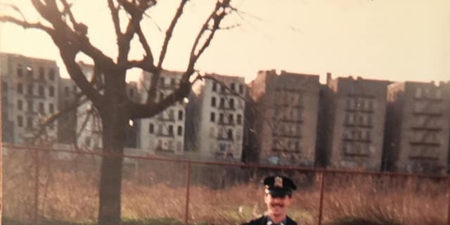 Retired NYPD Bronx detective, Malcolm Reiman, in 1984.