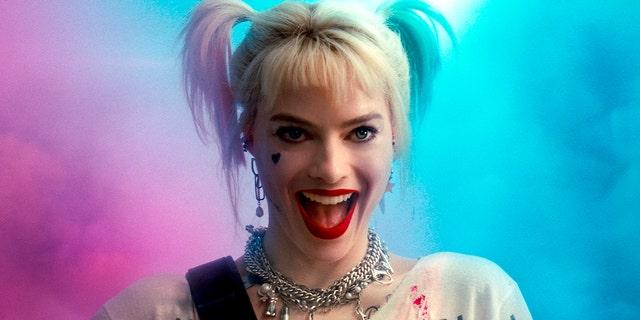 "Margot Robbie in a scene from ""Birds of Prey."" (Warner Bros. Pictures via AP)"