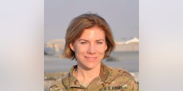 Mariah Smith, 41, who served three tours in Afghanistan as an Army Military Police Officer from 2007 to 2014.