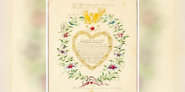 Westlake Legal Group old-romantic-on-476551 One of the world's oldest Valentine's Day cards from 1818 rediscovered after 20 years Michael Hollan fox-news/lifestyle/relationships fox news fnc/lifestyle fnc e7b8ed77-f899-5675-9bc0-bd4bb2dc75ca article /FOX NEWS/LIFESTYLE/OCCASIONS/Holiday