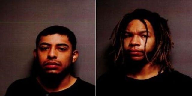 Mugshots forAndres Gutierrez, 23, and Brandon Shaw, 24.
