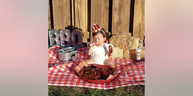 According to Paul, Calista has been eating ribs since she was 8 months old,  after she stole a piece from her mom's plate.