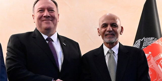 Westlake Legal Group pompeo-ghani US, Taliban reach truce agreement calling for 'reduction in violence' Greg Norman fox-news/world/conflicts/afghanistan fox-news/world/conflicts fox-news/us/military fox news fnc/world fnc e5cc3ffb-0fd3-58ee-8cf0-f48ca4e485ae article