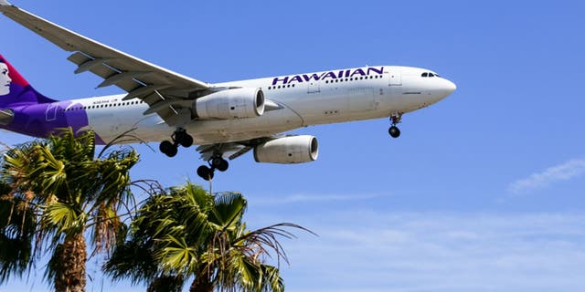 While in Hawaii, the couple traveled from Kahului to Honolulu via Hawaiian Airlines flight HA265.