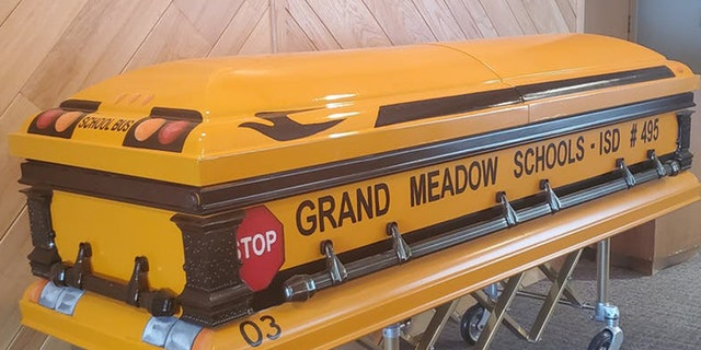 Gen Davis died Feb. 15, 2020 at the age of 88 after driving a school bus for his community for 55 years. He got the casket of his dreams.