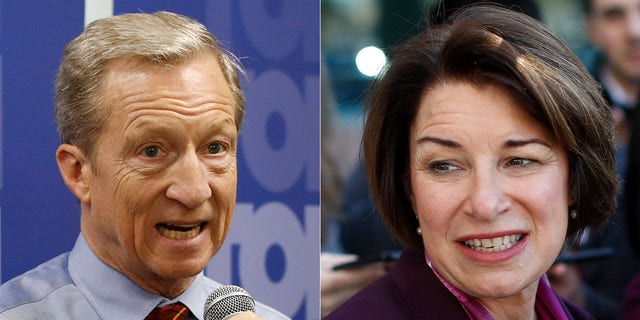 Presidential hopefuls Tom Steyer and Amy Klobuchar each reportedly drew a blank when asked to name the president of Mexico during a campaign event in Nevada.