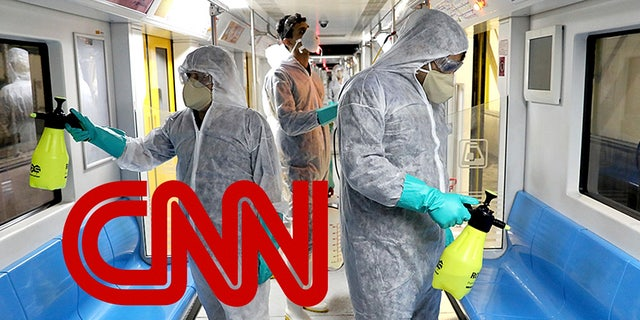 CNN has been accused of politicizing coronavirus, blaming President Trump in the process. (AP Photo/Ebrahim Noroozi)