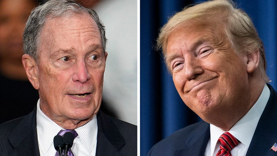 Trump riffs on Bloomberg: 'Mini Mike' is 'getting pounded tonight' at the debate