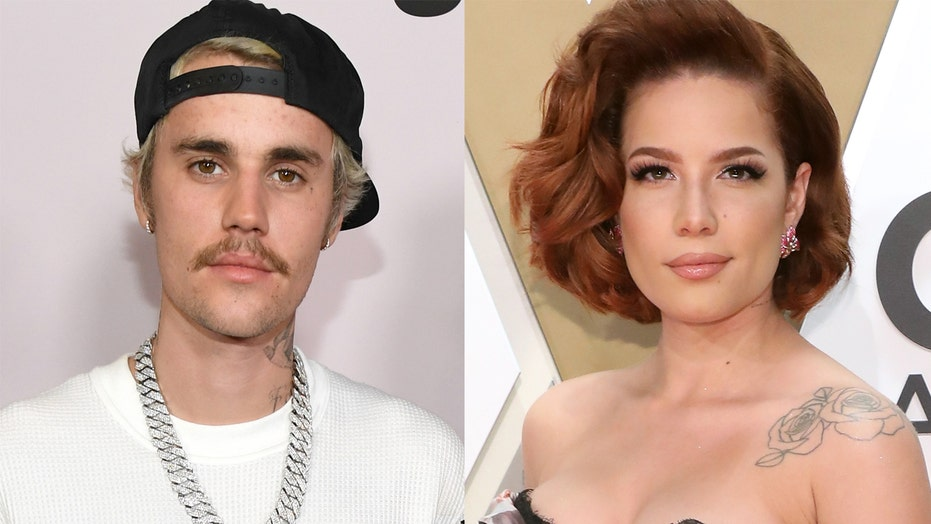 Celebrities With Face Tattoos Justin Bieber Halsey And