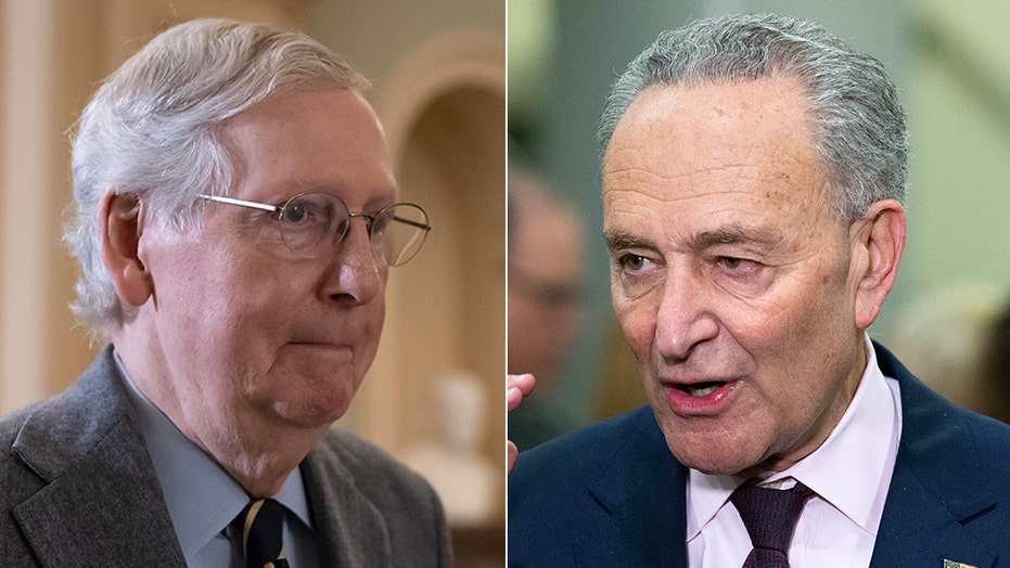 McConnell warns of 'dirty tricks' from Dems as Schumer says GOP has 'no right' to fill Supreme Court vacancy